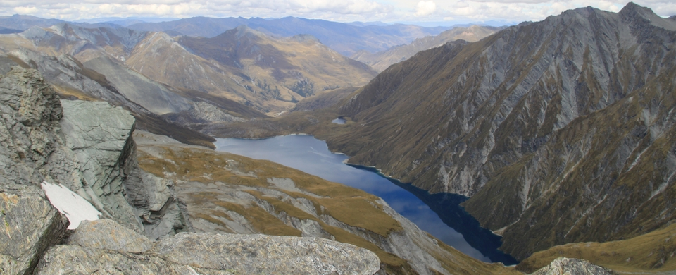 Lochnagar from ridge above Rees Saddle