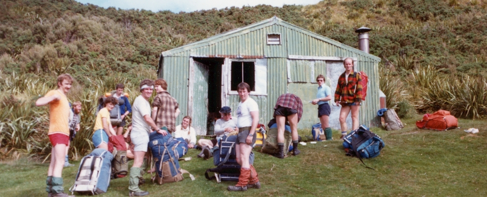 Green Hut, Silver Peaks (Bushcraft 1983 - Photo by Doug Forrester)
